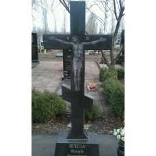 гранитный православный крест  №90