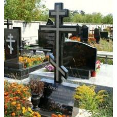 гранитный православный крест №155