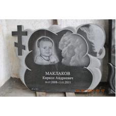 детский памятник с крестом №216