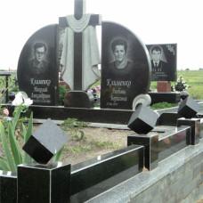 памятник на двоих с крестом №223