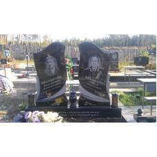 памятник на двоих резной №239