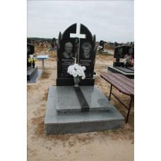 памятник из гранита на двоих №253