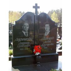 памятник из гранита на двоих №257