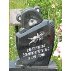 памятник из гранита детский Мишка №309