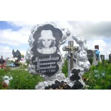 памятник из гранита детский №316